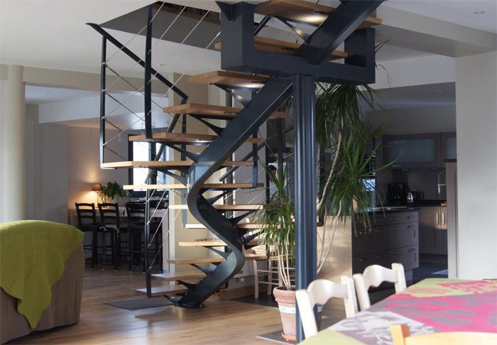 Escalier metal escalier metal